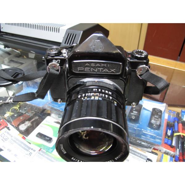 Pentax 67 +  Takumar 75mm f/ 4...