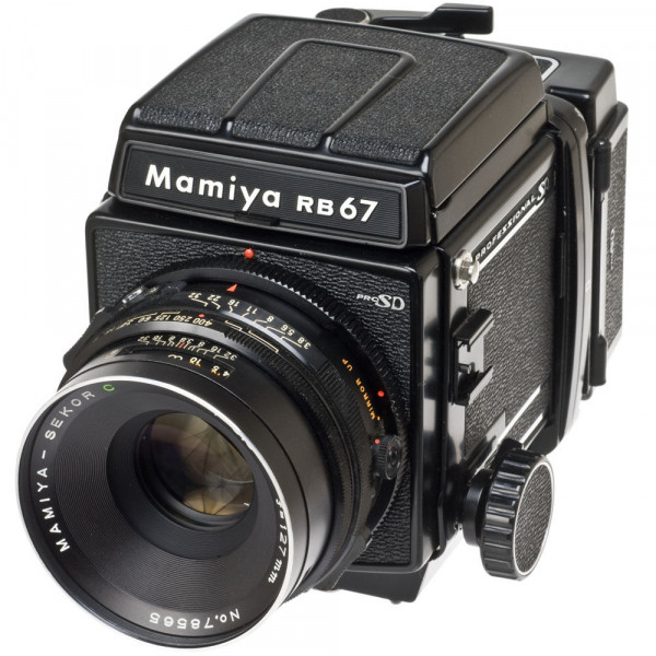 Mamiya RB 67 Pro S + 140mm. 1:4.5