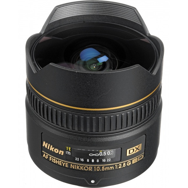Nikon AF DX 10.5 mm f/2.8G IF-...