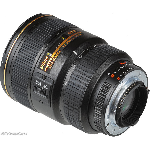 Nikon AF-S Nikkor 17-35mm f/2....
