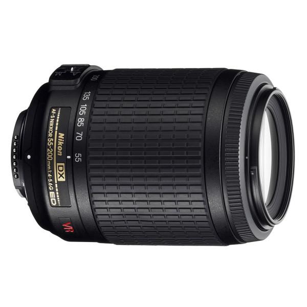 Nikon AF-S 55-200mm f/4-5.6G AF-S ED VR ...